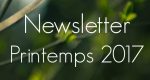 The Spring 2017 Newsletter is on-line!