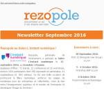 La Newsletter Rezopole